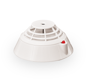 Point type heat detector