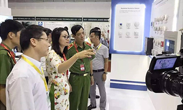 Sanjiang Shines on Secutech Vietnam 2017