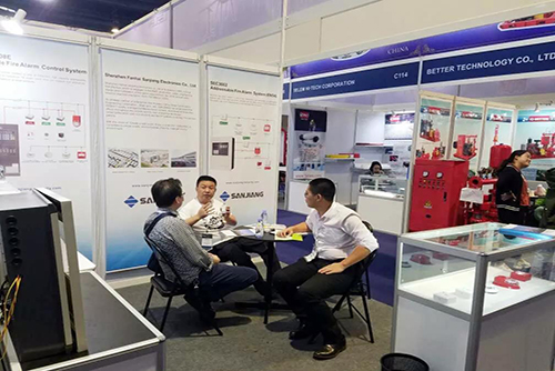 Leading Industry·To be International | Fanhai Sanjiang strengthly debut at 2019 Philippine International Security Exhibition